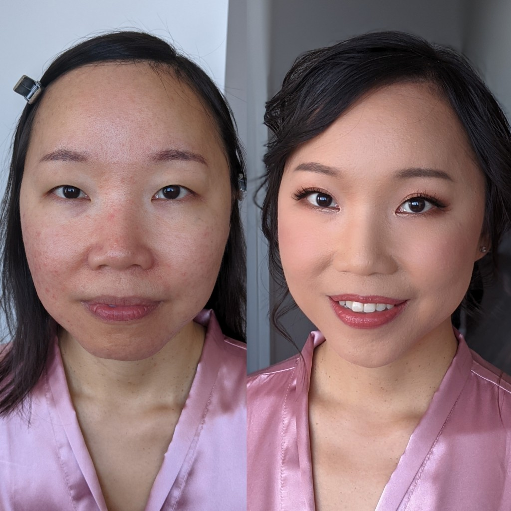 Asian before and after